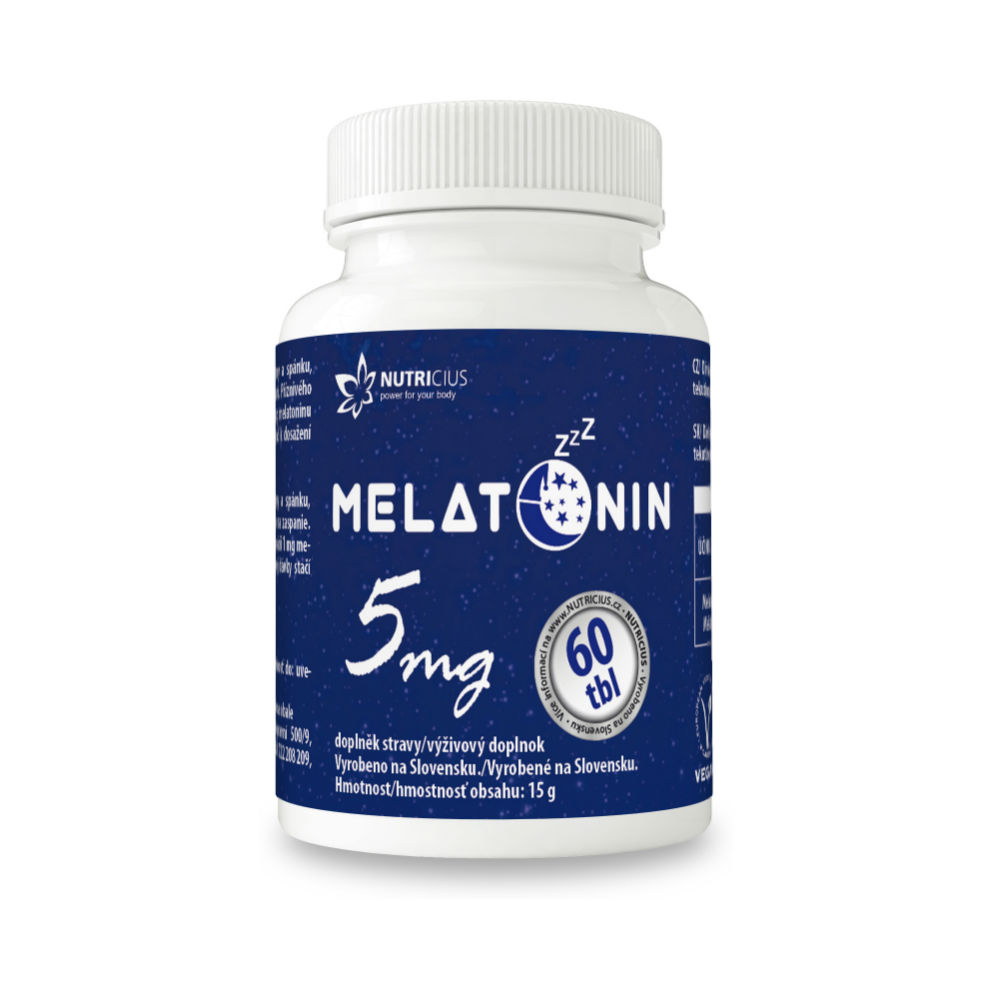 Melatonin 5mg new tbl. 60