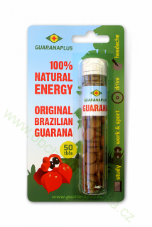 GUARANAPLUS Guarana original 50 tablet