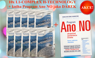 AKCE 10x L-1 Complex H-Technology + kniha Program Ano NO