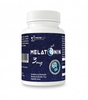 Melatonin 3mg new tbl. 60